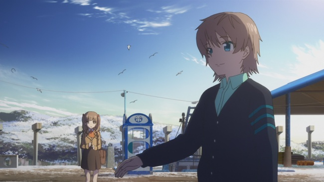Nagi no Asukara-First meeting