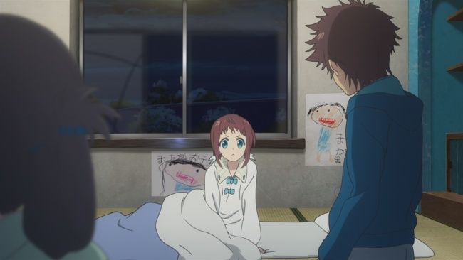 Nagi no Asukara-Manaka's awake