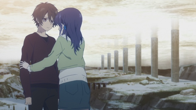 Nagi no Asukara-Shocked Chisaki