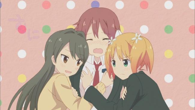 Sakura Trick-Haruka Groping