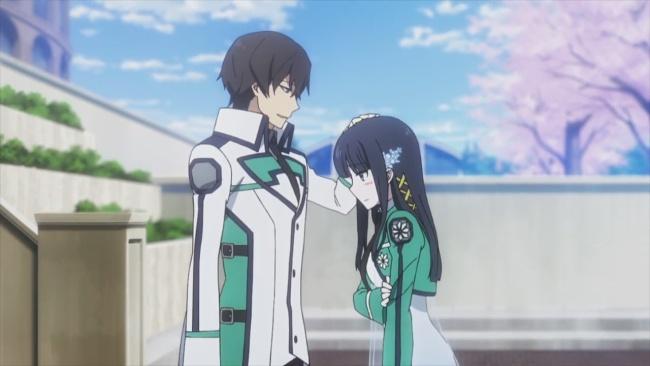 Mahouka-Miyuki and Tatsuya