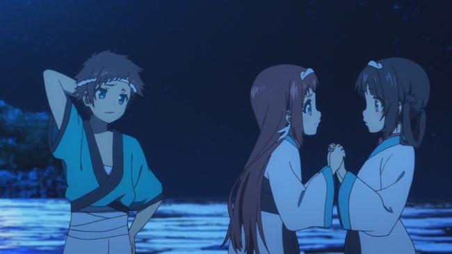 Nagi no Asukara-Hikari loses both girls to each other