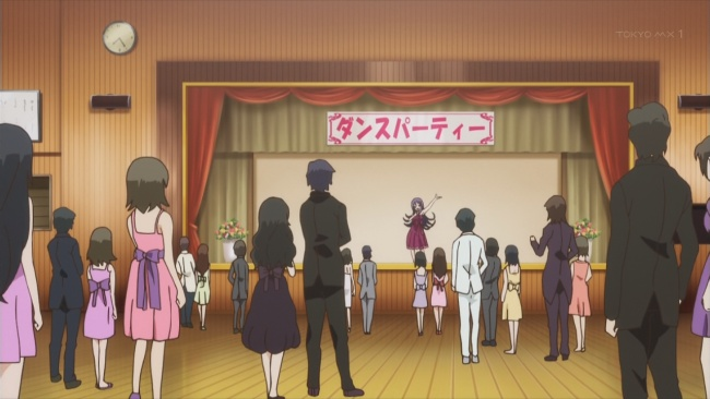 Kanojo ga Flag-Girl in the pink dress why no bow