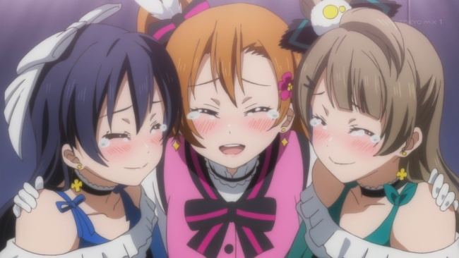 Love Live-Leaving it all out there