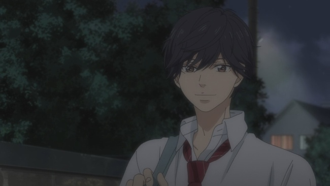 Ao Haru Ride-Finally he smiles at her