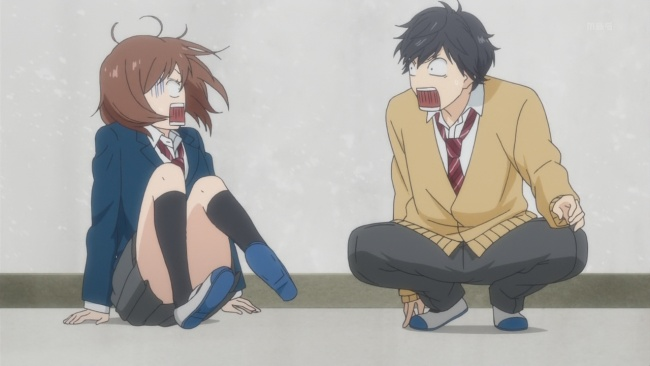 Ao Haru Ride Silly Faces-Yikes!
