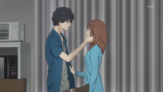 Ao Haru Ride-So close to a kiss
