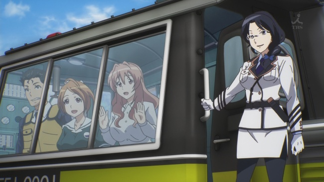 Rail Wars-Stopped to pick everyone up
