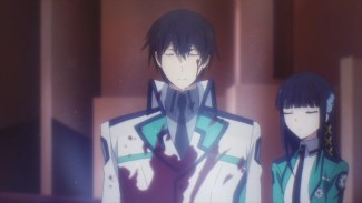 Mahouka-Oh, your uniform is messed up