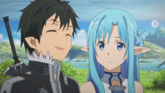 SAO 2-Kirito and Asuna