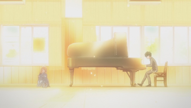 Shigatsu wa Kimi no Uso-Finding his image