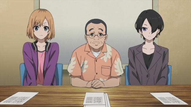 Shirobako-Interview Panel