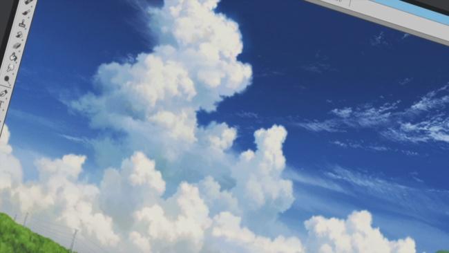Shirobako-Clouds