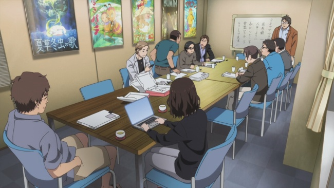 Shirobako-Hell is meetings