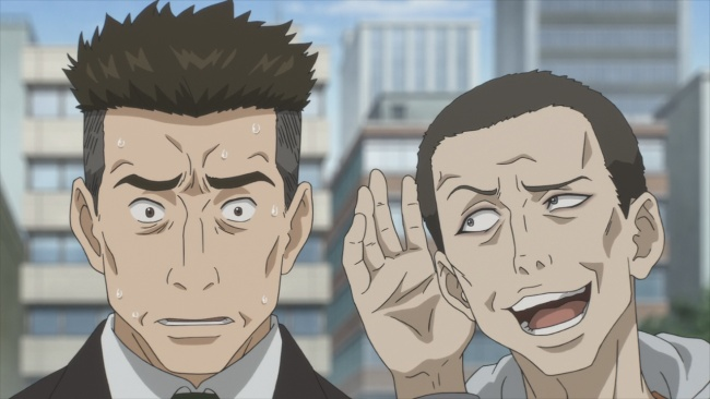 Parasyte-Hey, what's that you said