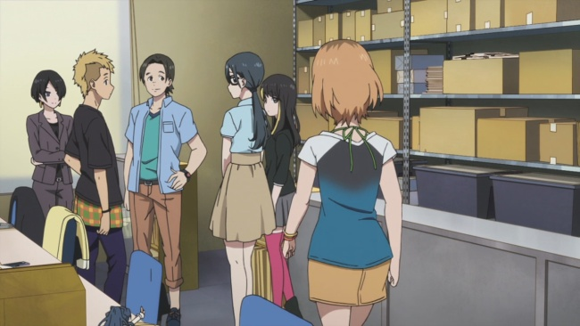 Shirobako-Honda's downsized