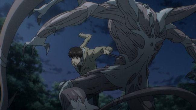 Parasyte - Shinichi desperate