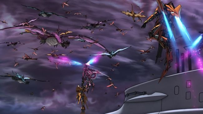 Cross Ange - help is on the way