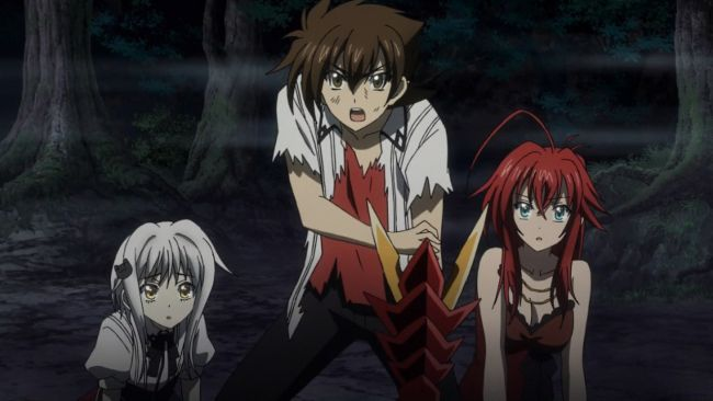DxD BorN - Issei protects