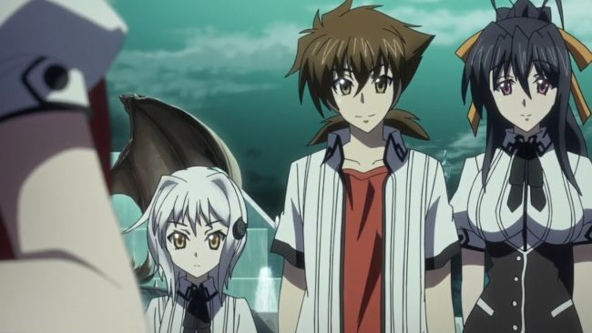 DxD BorN - One over her issues, one just starting