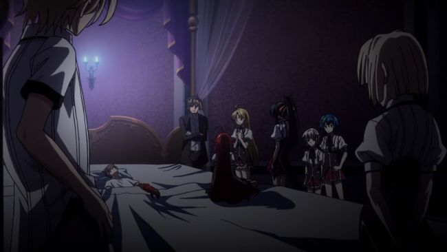DxD BorN - Everyone wants to help Issei