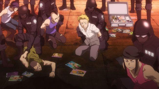 Shimoneta - caught the major criminals
