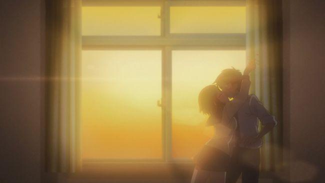 Okusama - Getting her kiss