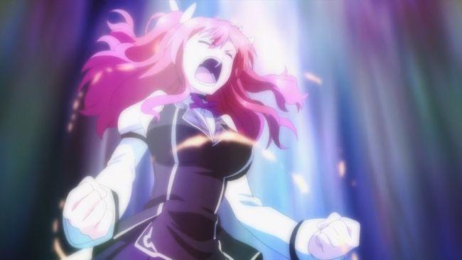 Rakudai Kishi - Stella's outburst
