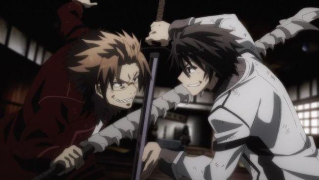 Rakudai Kishi - Two guys having fun