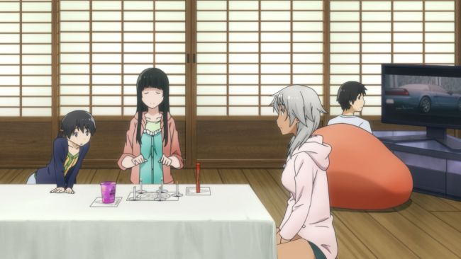 Flying Witch - That movie was one long car chase
