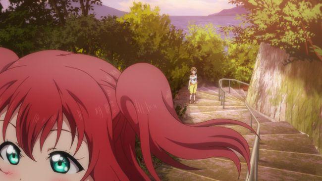Love Live Sunshine - Launching her friend