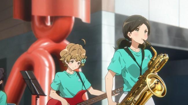 Euphonium S2 - Haruka can blow