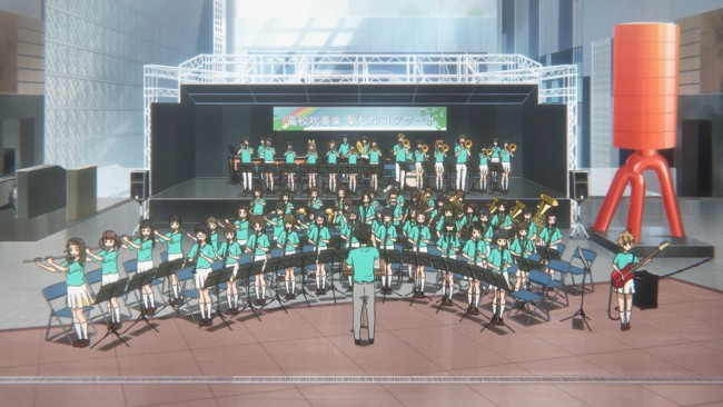 Euphonium S2 - Not easy to stand up