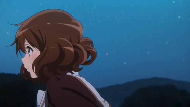 Euphonium S2 - Kumiko feeling like she's with Asuka