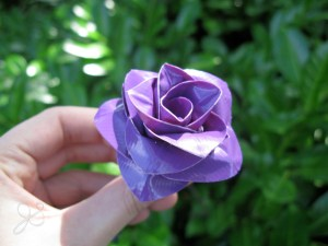 Duct Tape Rose by Jessica Stroia