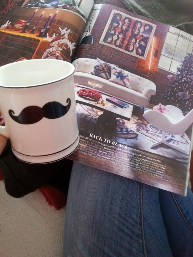 coffee and magazines