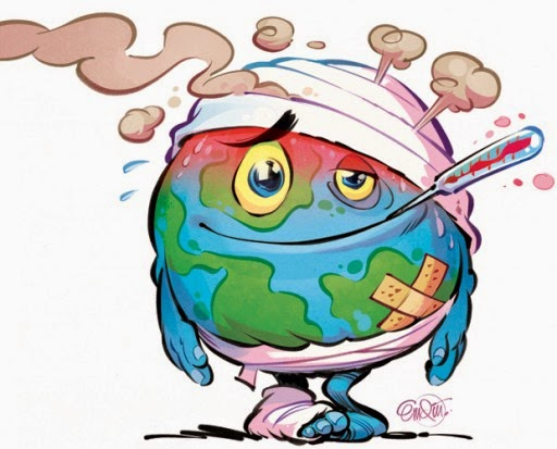 Climate Science in a Nutshell: A Sick Planet