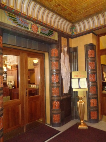 Entrance to Café Imperial via Hotel Imperial