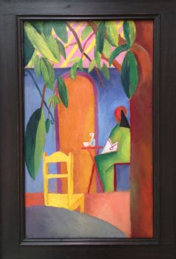 Turkish café II by August Macke