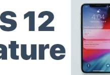 ios 12 feature