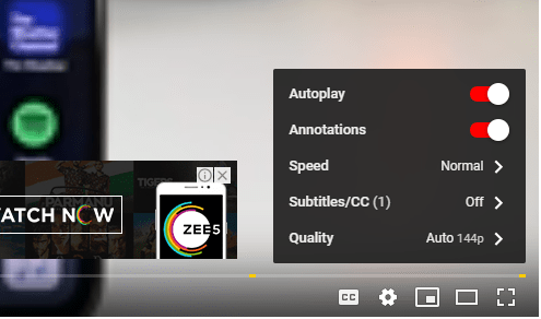 YouTube Video Annotation