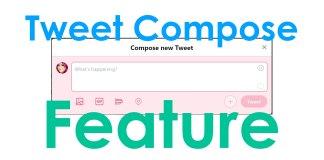 tweet compose