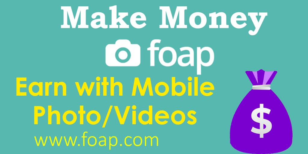 Earn with Mobile Photo and video Foap