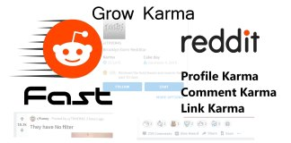 How I grow fast Karma on my Reddit account