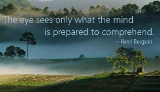 What are you prepared to comprehend?