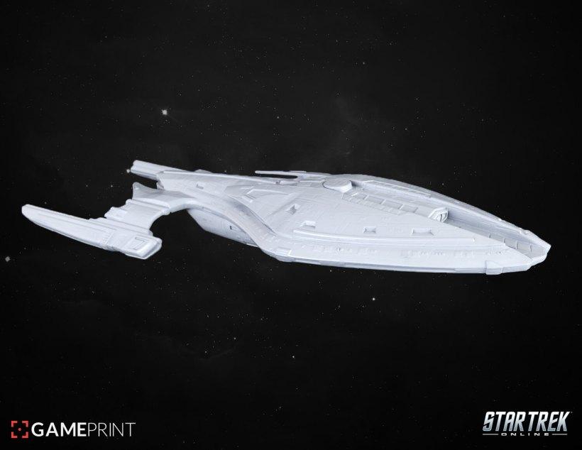 Star Trek Online vaisseaux 3D Mixed dimensions1