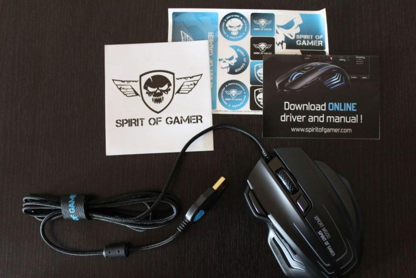 Test Souris gaming Spirit of Gamer XPERT M500 screen5