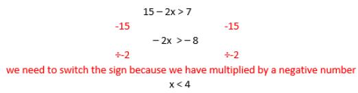inequalities example 2