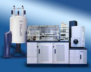 NMR mit HPLC und Massenspektrometer