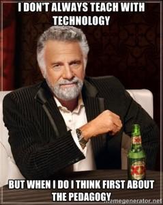 pedagogy before technology